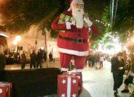 funchal lights - FATHER CHRISTMAS
