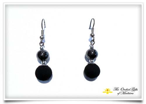 lava earrings 6 with hematite beads