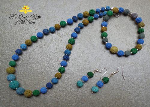 Natural Lava Stone Jewellery