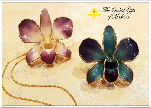 Natural Orchid Jewellery